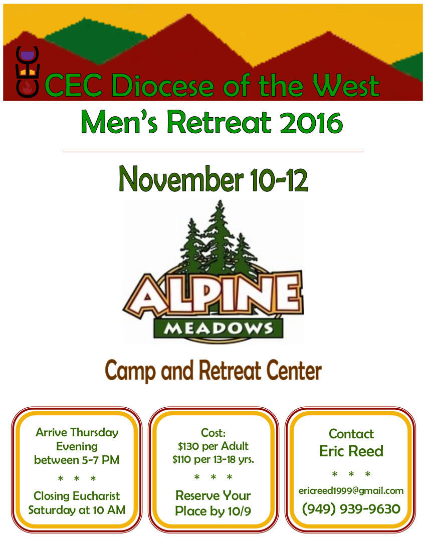 Mens Retreat Flier 2016